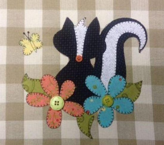 Lil' Stinker Applique Pattern