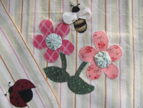 Spring Bloom Applique Pattern
