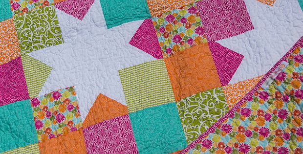 Stars Shine Against Easy Patchwork Quilting Digest