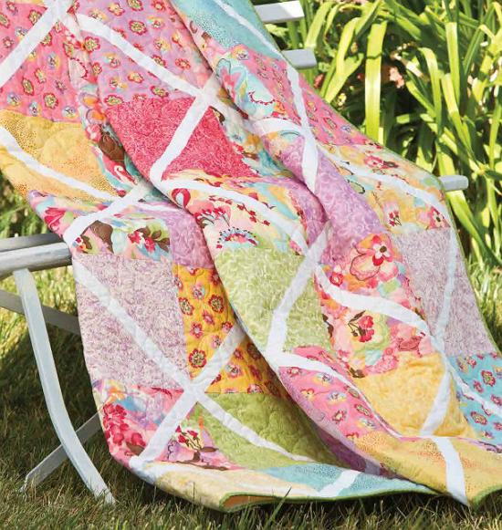 Trellised Garden Quilt