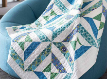 Four X Squared Quilt Pattern
