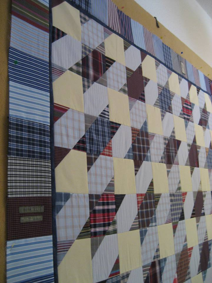 Make A Stunning Quilt From Men S Shirts Quilting Digest
