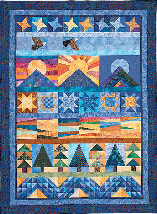 America the Beautiful Quilt Pattern