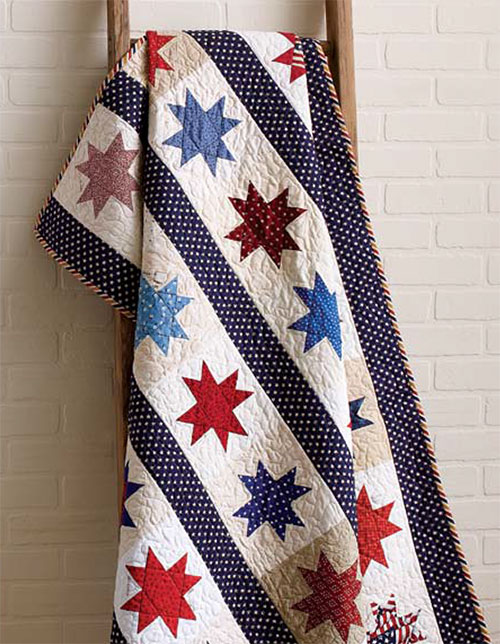 String of Stars Quilt