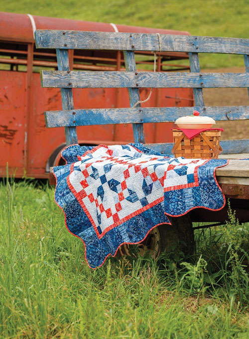 Summertime Blue Quilt Pattern