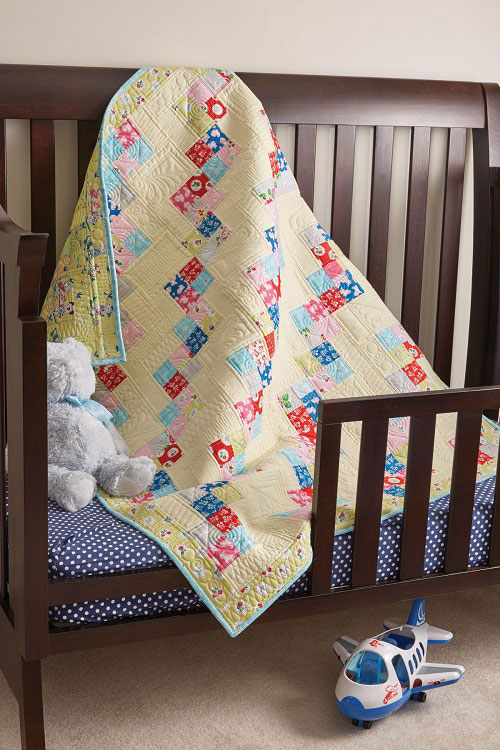 Let's Play Hopscotch Quilt Pattern
