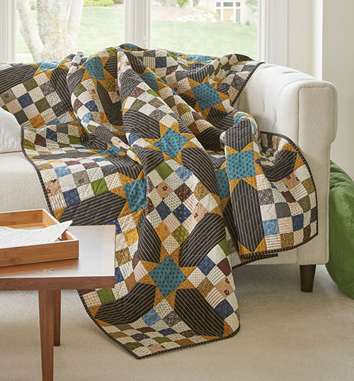 New Hampshire Nights Quilt