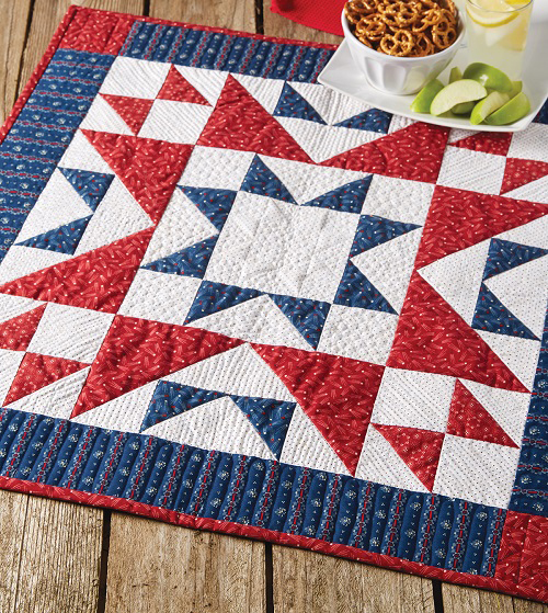 We the People Table Quilt Pattern