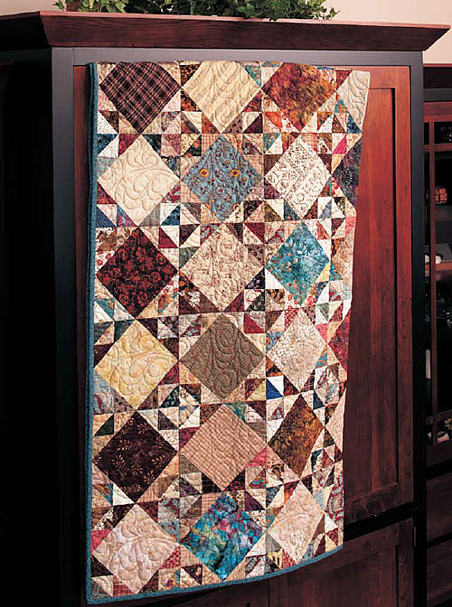 Triangle Surprise Quilt Pattern