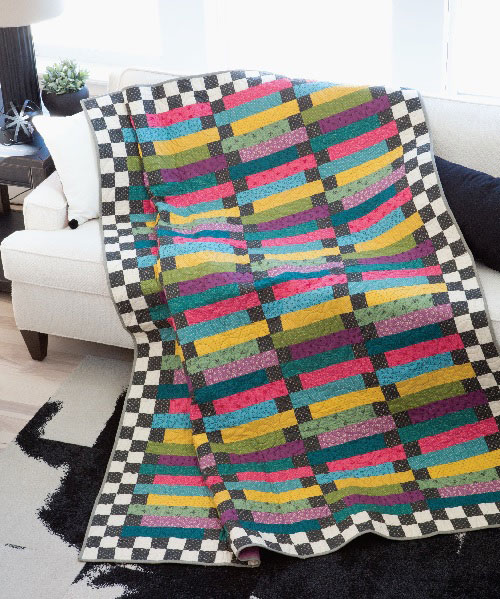 Rainbow Road Quilt Pattern