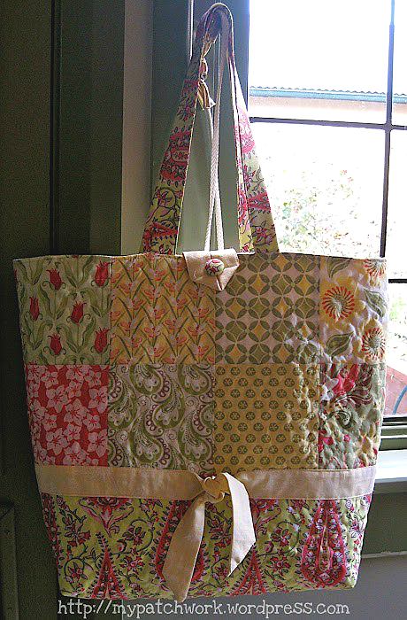 Charm Pack Tote Bag With Inside Pocket