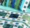 Mosaique de Mer Bed Runner and Shams