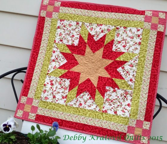 Peyton's Star Quilt Tutorial