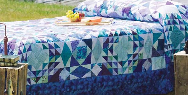 By the Seashore Quilt Pattern