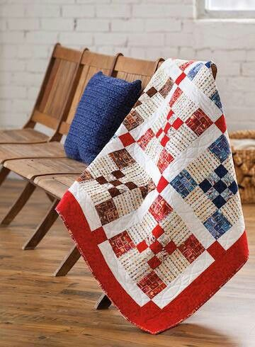 Via Air Mail Quilt Pattern