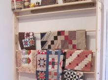 Sewing Room Wall Rack