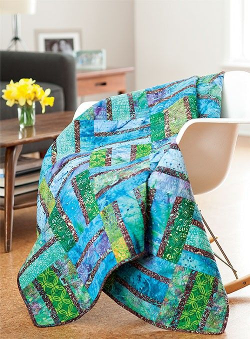 Cooler by the Lake Quilt Pattern