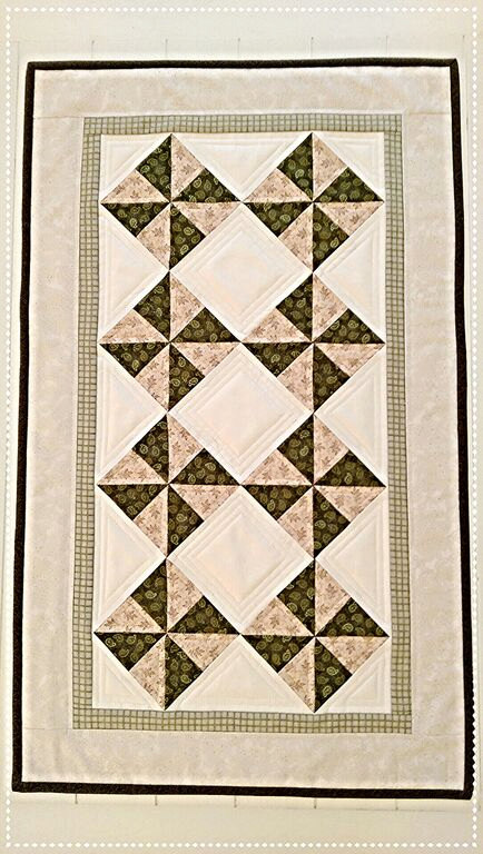 Pinwheel Table Runner