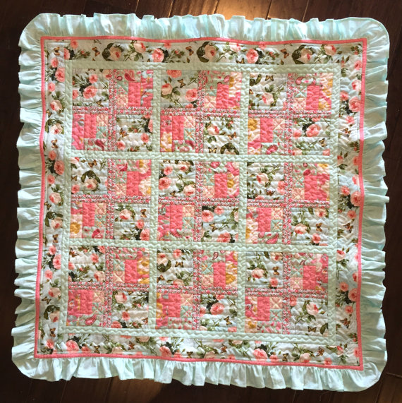 French Country Baby Girl Quilt Pattern