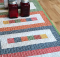 Rainbow Blocks Table Runner
