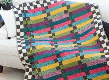 Rainbow Road Quilt Pattern