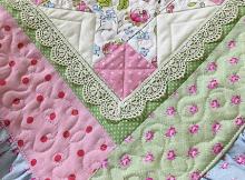 Ruffle Baby Quilt