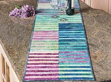 Under The Rainbow Table Runner Pattern