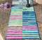 Under The Rainbow Table Runner Pattern
