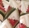 Watermelon Log Cabin Quilt