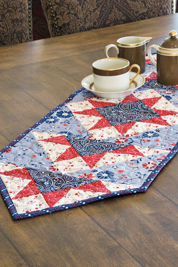 Star Spangled Table Runner Pattern