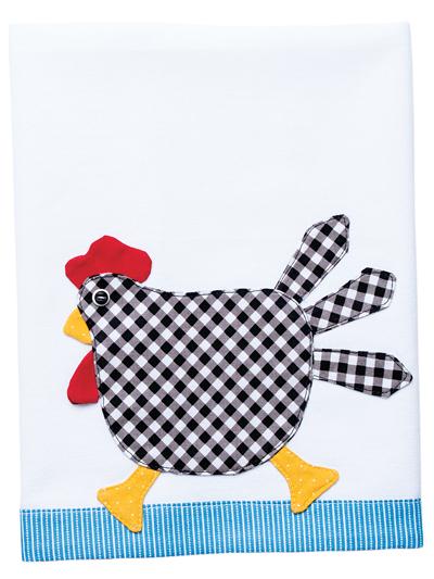 Charming Chicken Tea Towel
