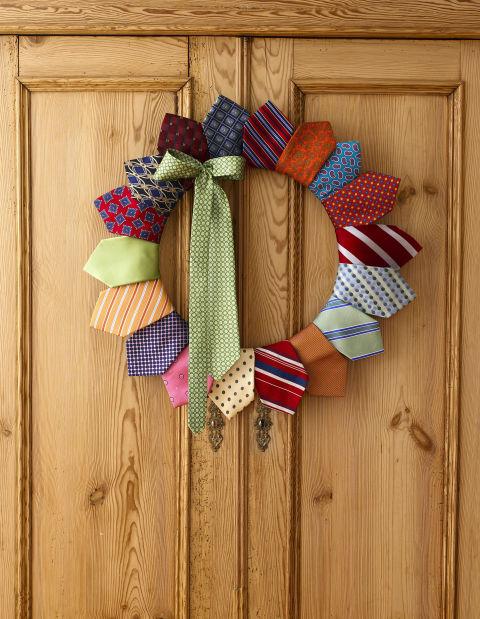 Necktie Wreath