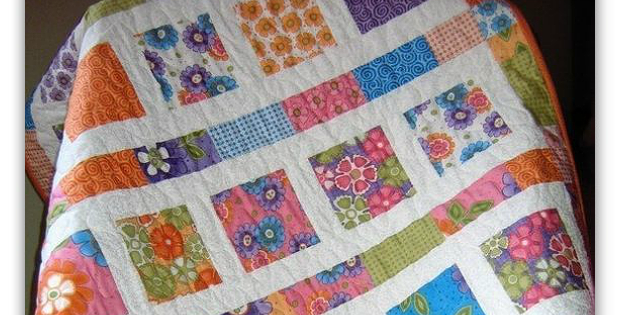 Flowers in the Sunshine Quilt Pattern