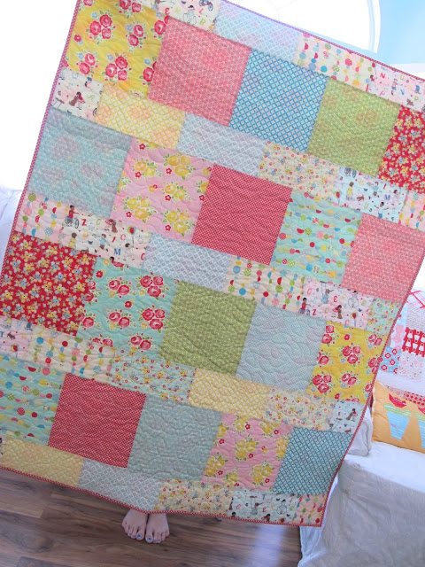 Layer Cake Lemonade Quilt Pattern