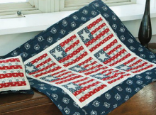 Stars of Mine Mini Flag Quilt
