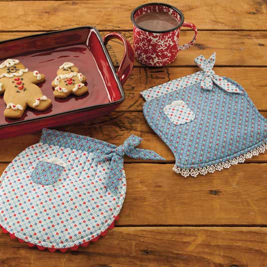 Apron Pot Holders