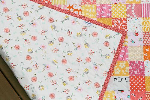Sherbet Patchwork Quilt