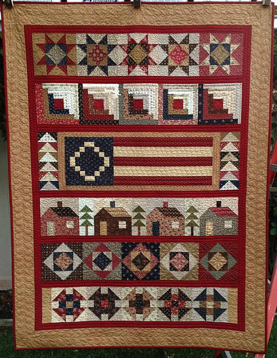 Back Home Quilt Pattern