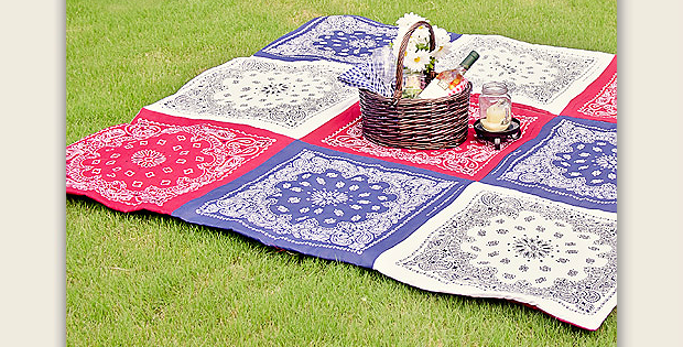 Double Sided Picnic Quilt