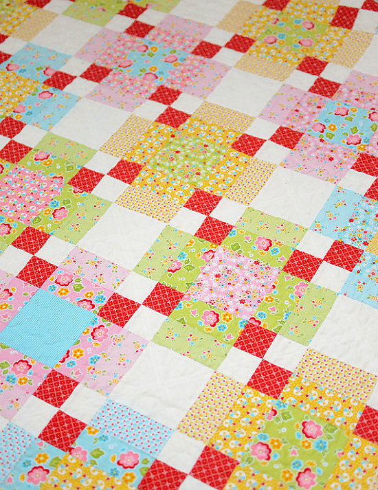 Plaid Quilt Pattern