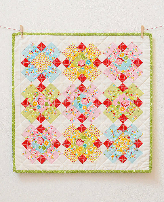 Plaid Mini Quilt Pattern