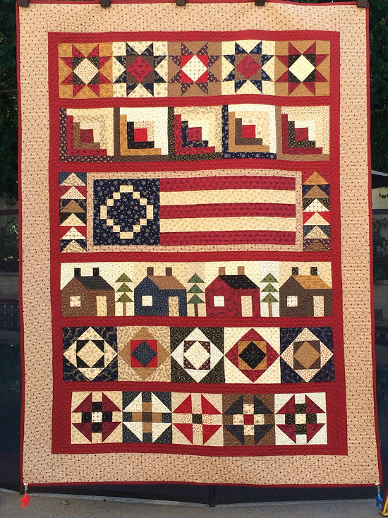 Home of the Free Quilt Pattern