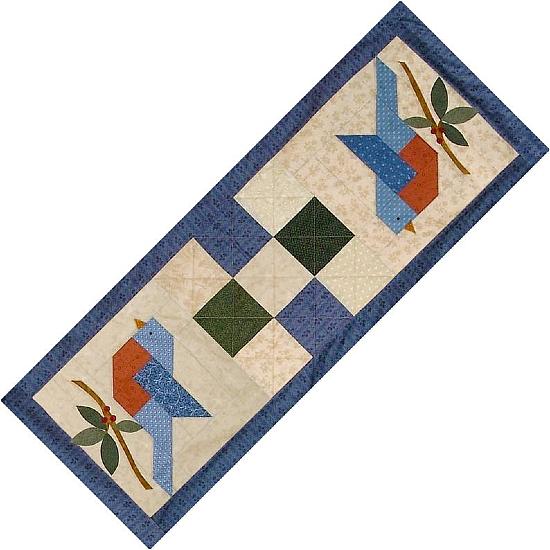 Summer's Song Bluebird Quilt Pattern