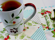 Mug Rug with Napkin and Pocket