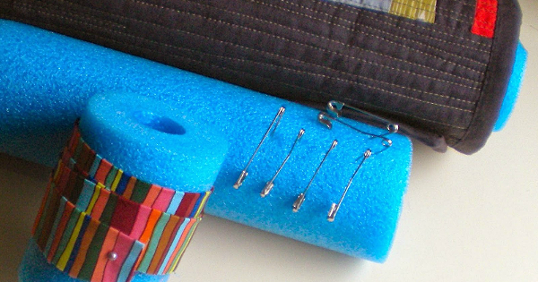 Pool Noodle Helps for Quilters