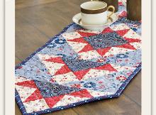 Star Spangled Table Runner Pattern