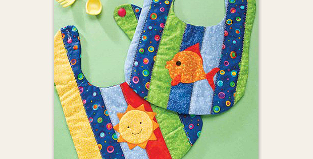 Sun and Fun Bibs Pattern