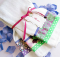 Kitchen Towels with Ribbon and Fabric Borders