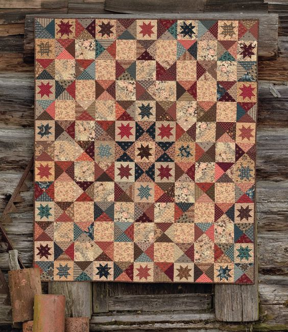 The Blue and the Gray: Quilt Patterns using Civil War Fabrics