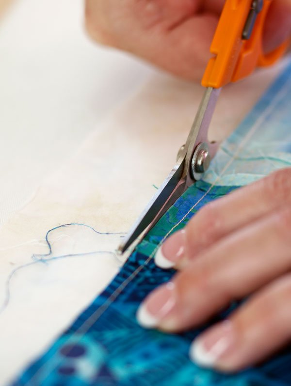 how to prepare ties for quilting